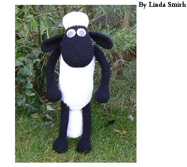 Crochet Kit to make Shaun the Sheep