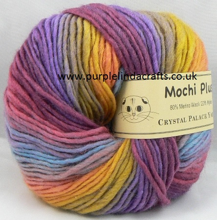 Crystal Palace Mochi Plus Wool 636 Festival DISCONTINUED