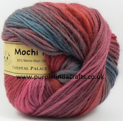 Crystal Palace Mochi Plus Wool 642 Dynamite DISCONTINUED