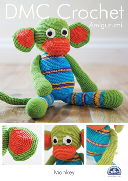 DMC Amigurumi MONKEY Crochet Pattern 15048L/2