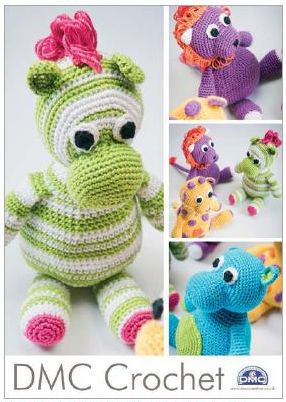 DMC Amigurumi Safari Animals Crochet Pattern 14969L/2 HALF PRICE