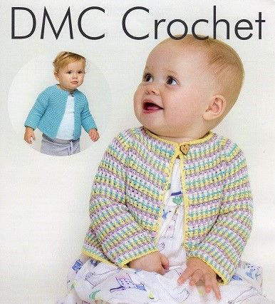 DMC Natura Just Cotton Crochet Patterns