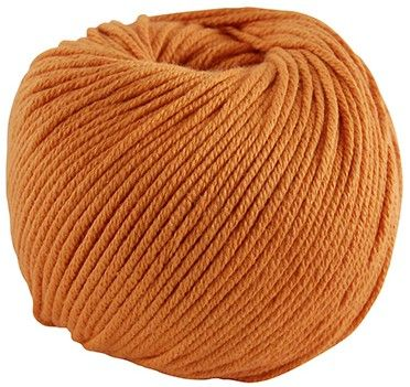 DMC Natura MEDIUM Just Cotton 109 Rust Orange