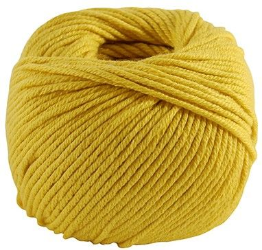 DMC Natura MEDIUM Just Cotton 99 Mustard Yellow