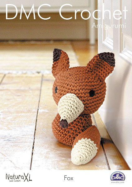 DMC Natura XL FOX Toy Crochet Pattern 15242