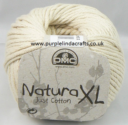 DMC Natura XL Just Cotton Super Chunky Yarn 31 Creme
