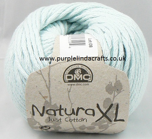 DMC Natura XL Just Cotton Super Chunky Yarn 73 AQUA