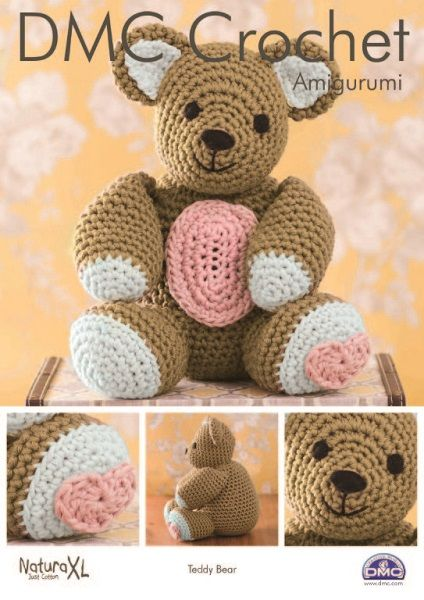 Amigurumi Teddy Bear (With images) | Crochet teddy bear pattern ... | 600x424