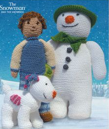 DMC The SNOWMAN The SNOWDOG and BILLY Crochet Kit