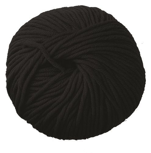 DMC Woolly 5 Merino Wool 02 Black
