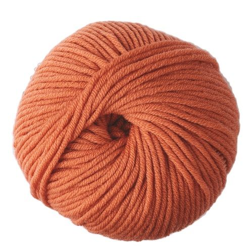 DMC Woolly 5 Merino Wool 10 Orange
