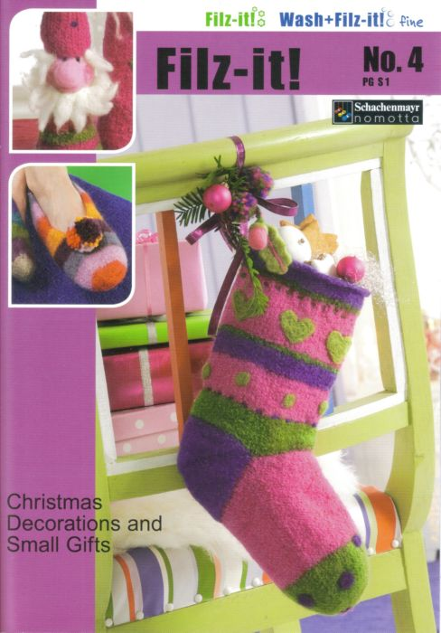 Filz it! No.4 Christmas Gifts Knit & Felt Book