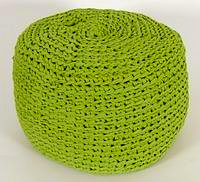 FREE Pattern Hoooked Zpagetti Crochet Pouffe (Bean Bag)