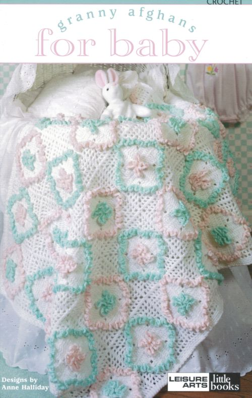 Book Cover Crochet Uk ~ Granny afghans for baby crochet pattern book a