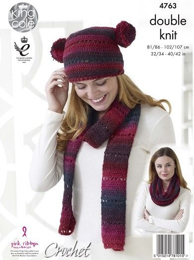 Hat Scarf & Accessories Crochet Patterns