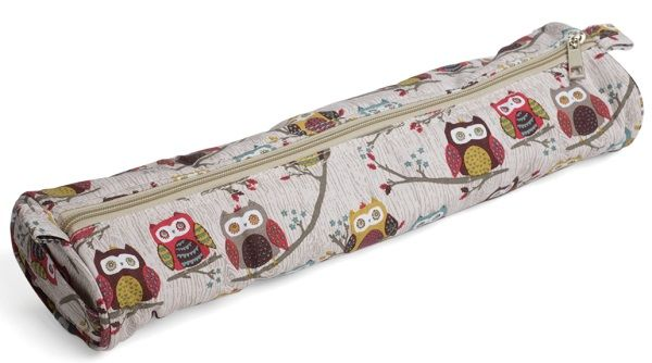 HOOT Owl Knitting Pin Tunisian Hook Case (Tube)
