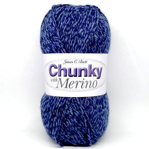 James C Brett CHUNKY with MERINO Yarn