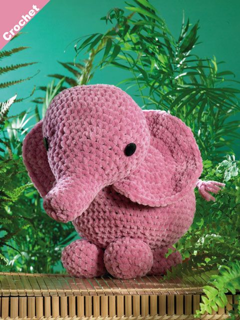 The Sweetest Crochet Elephant Patterns To Try | The WHOot | 640x481
