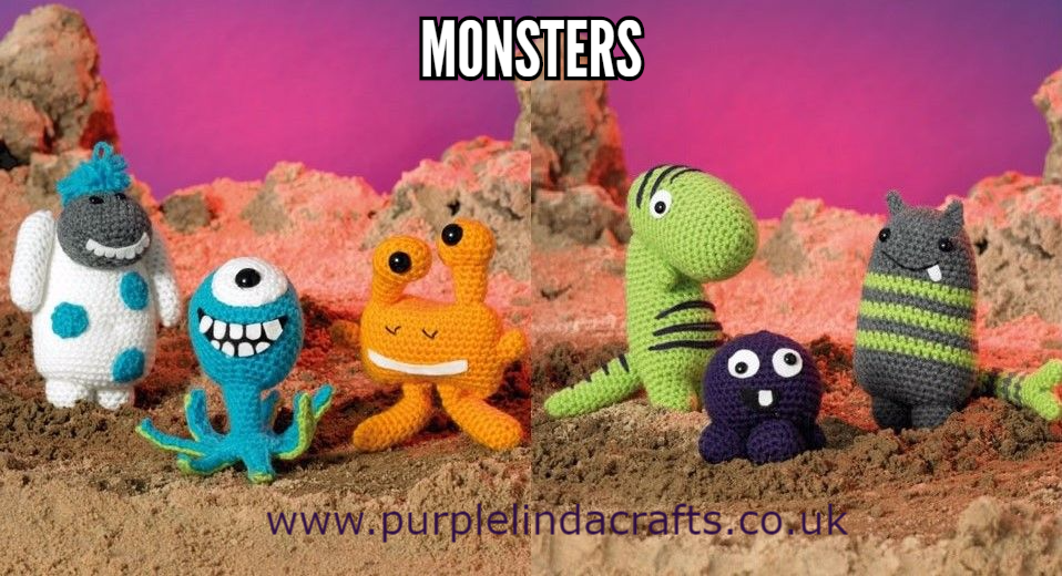 James C Brett Magic Monsters Crochet KIT
