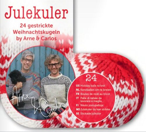 Julekuler Festive Baubles Pack to Knit by Arne & Carlos FREE Booklet