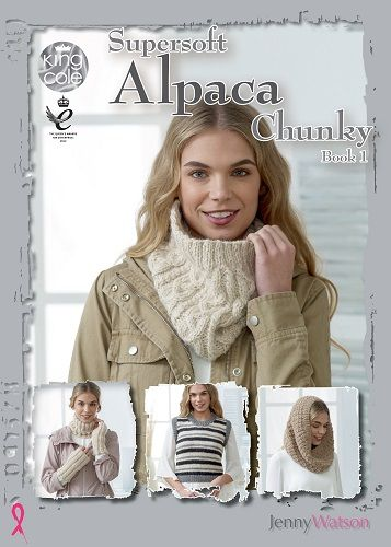 King Cole Alpaca Chunky Book 1