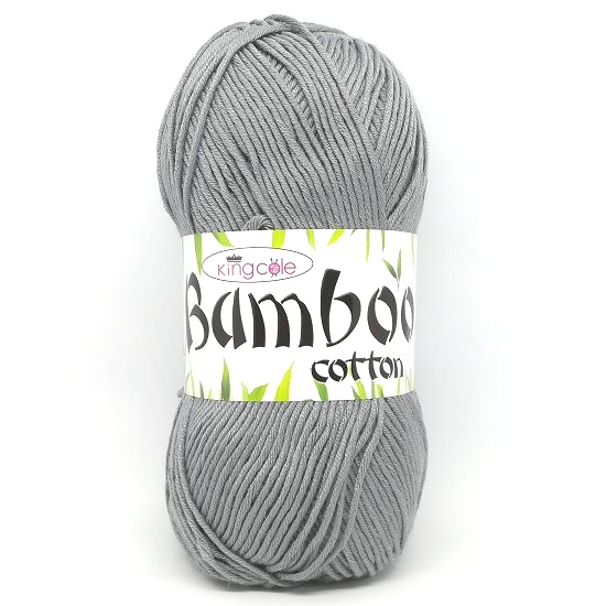King Cole Bamboo Cotton DK 3455 Steel
