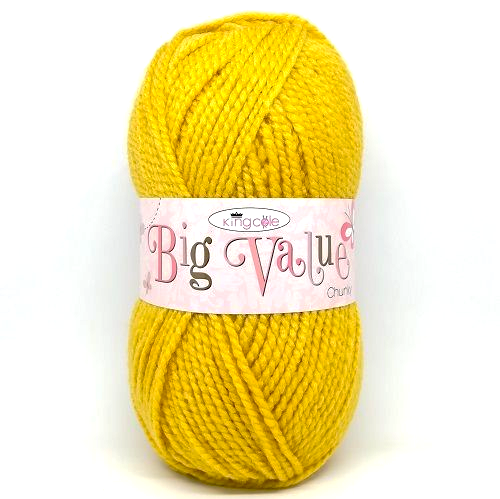 King Cole Big Value CHUNKY Yarn
