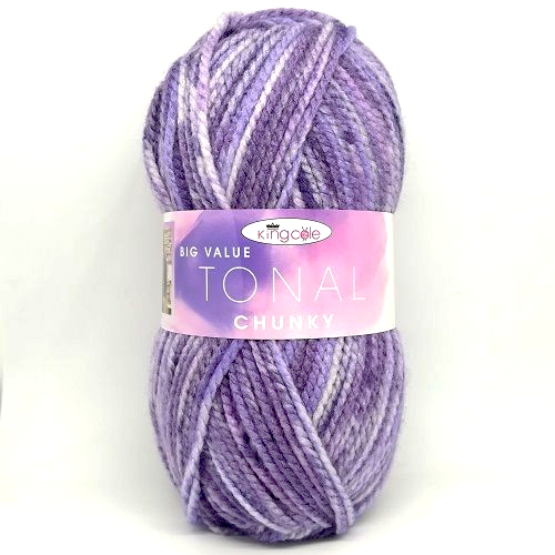 King Cole Big Value Tonal Chunky 2538 Amethyst