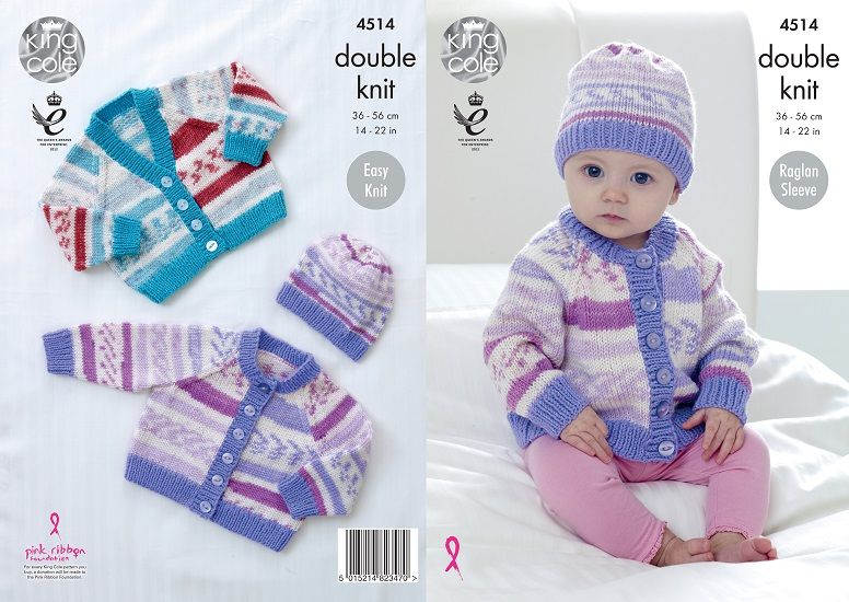 b5aecb11465c King Cole Cherish DK Knitting and Crochet Patterns