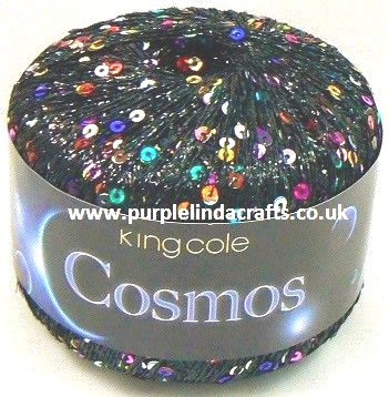 King Cole COSMOS Sequin Metallic