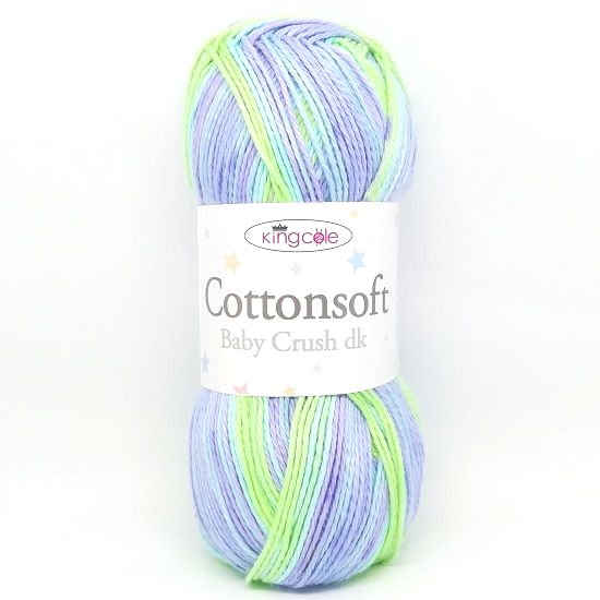 King Cole Cottonsoft Baby Crush DK 2878 Fresco