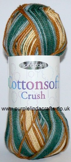 King Cole Cottonsoft Crush DK 2430 Willow