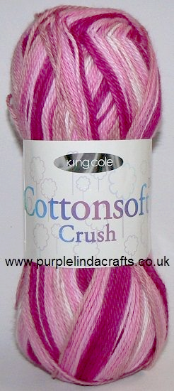 King Cole Cottonsoft Crush DK 2434 Candy Floss