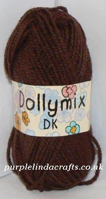 King Cole Dollymix DK 273 Chocolate Brown