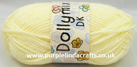 King Cole Dollymix DK 3 Primrose Yellow