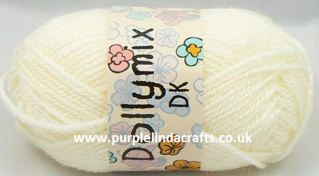 King Cole Dollymix DK 46 NATURAL Cream