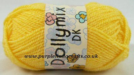 King Cole Dollymix DK 55 GOLD Yellow