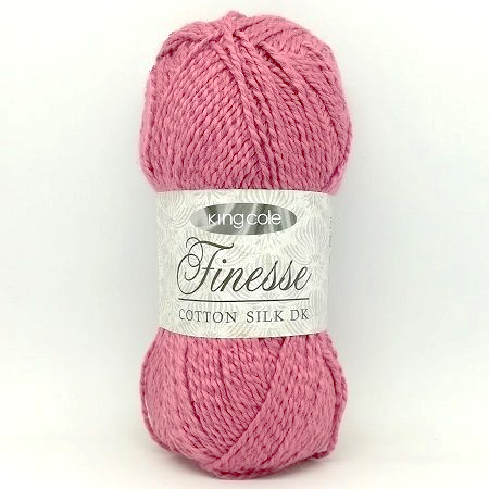 King Cole Finesse Cotton Silk DK 2813 English Rose