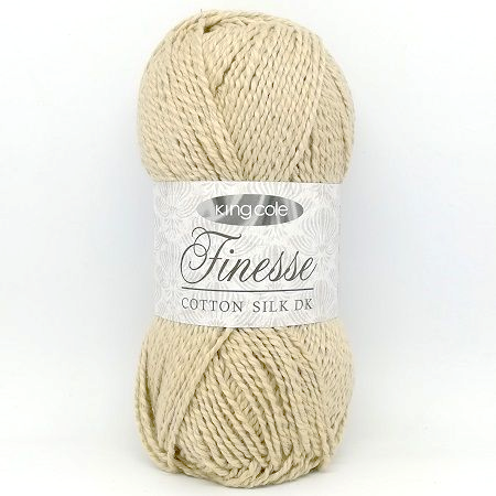 King Cole Finesse Cotton Silk DK 2818 Stone