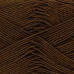 King Cole Giza Cotton 4ply 2410 Chocolate
