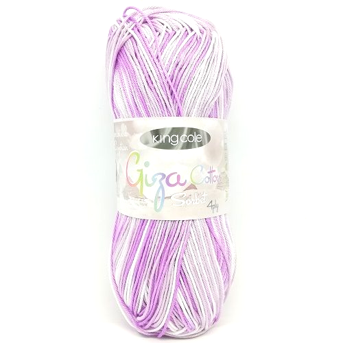 King Cole Giza Cotton Sorbet 4ply 2429 Magical