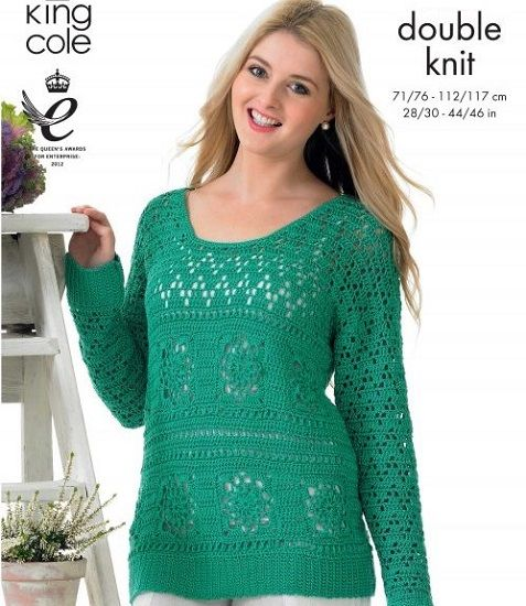 King Cole GIZA DK Cotton Knit and Crochet Patterns