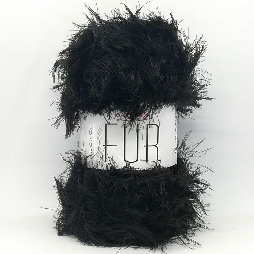 King Cole Luxury Fur 4201 Black