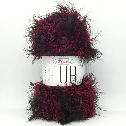 King Cole Luxury Fur 4205 Red Deer