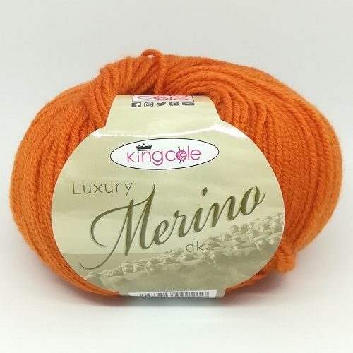 King Cole Luxury Merino DK 2638 Orange