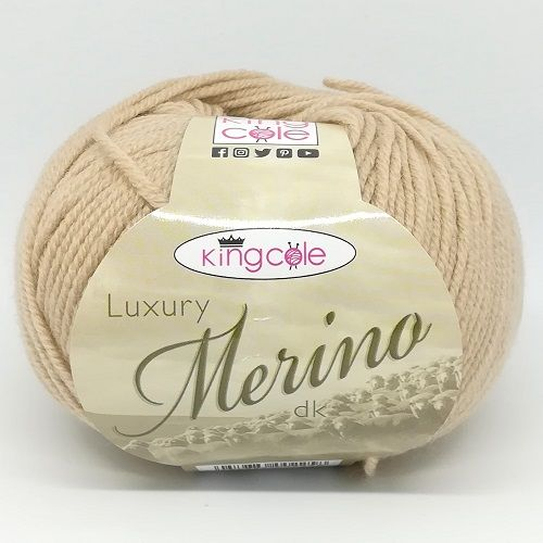 King Cole Luxury Merino DK 3327 Pebble
