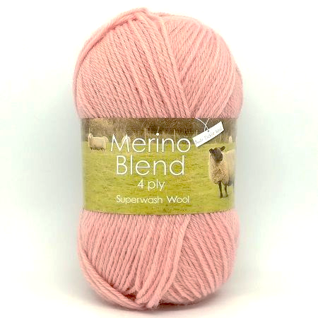 King Cole Merino 4ply Wool 3295 Blossom