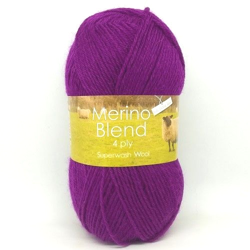 King Cole Merino 4ply Wool 3394 - Blackcurrant
