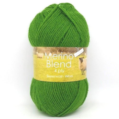 King Cole Merino 4ply Wool 3396 Grass