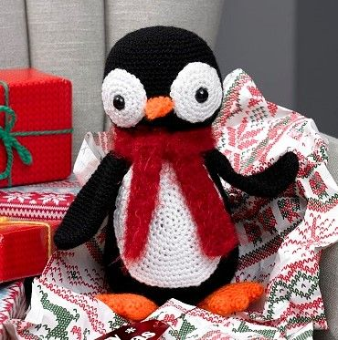 King Cole Penguin Crochet Yarn Pack